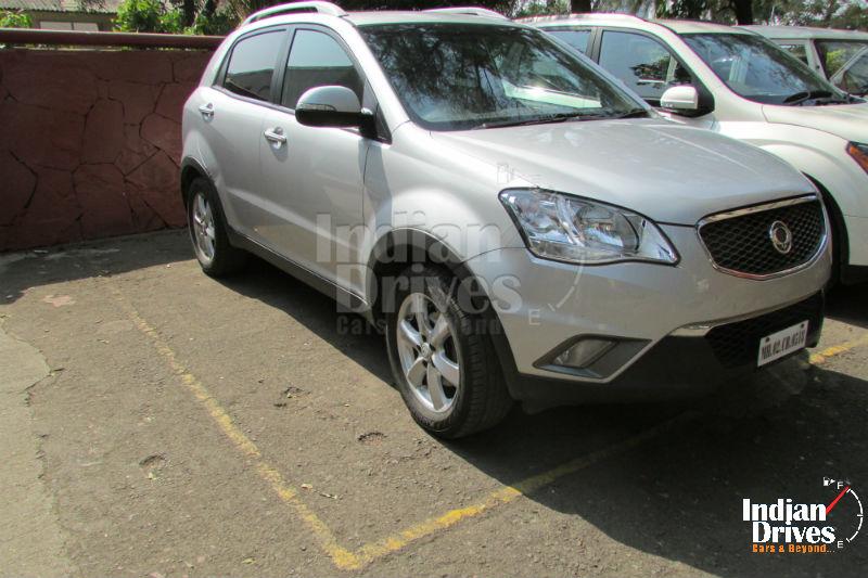 Ssangyong Korando SUV Spotted