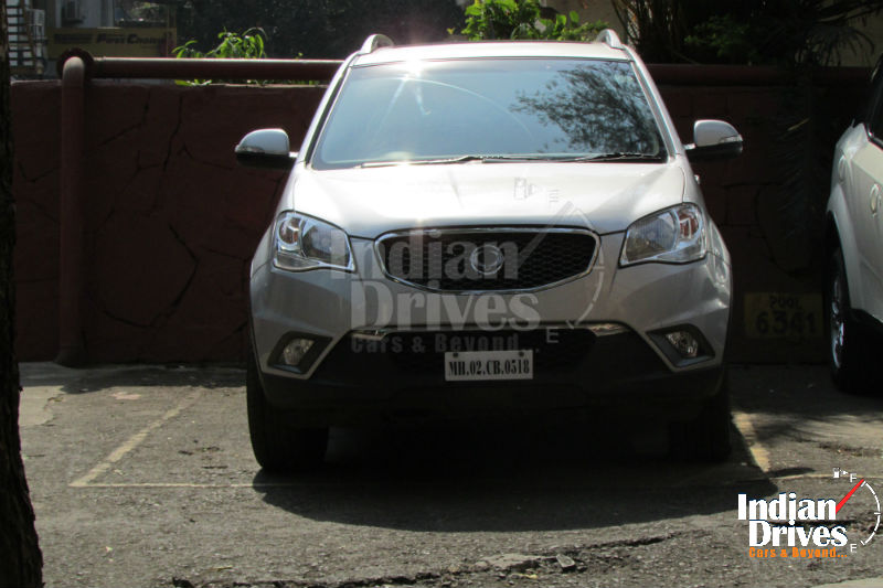 Ssangyong Korando spotted in India