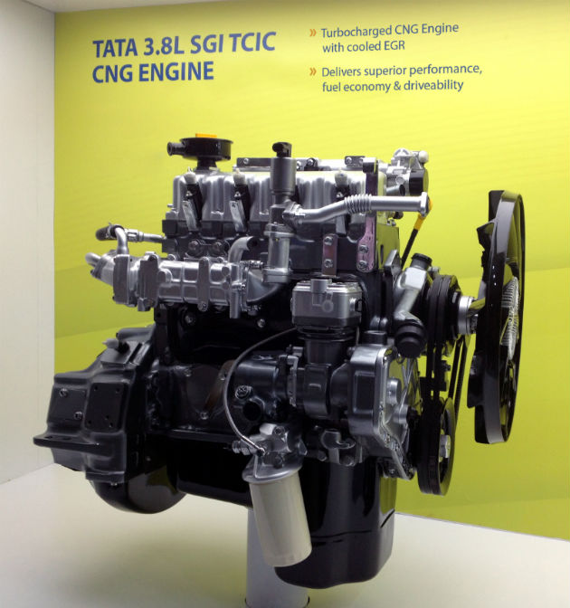 Tata Motors Westport launch natural gas engine