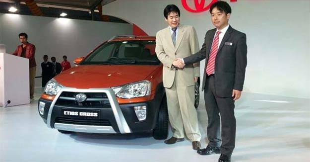 Toyota Etios Cross Unveiled