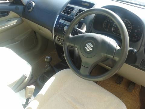 Used Maruti SX4 interiors