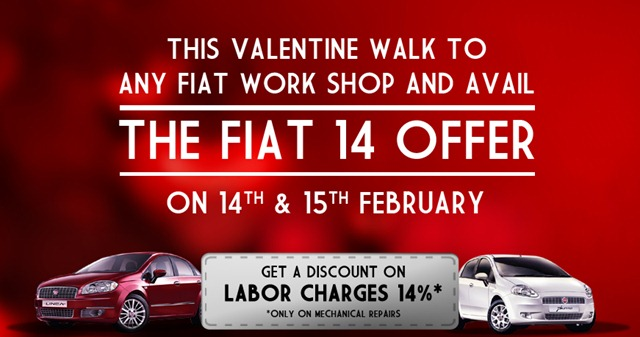 Valentine Day Check Up Camp organized by Fiat