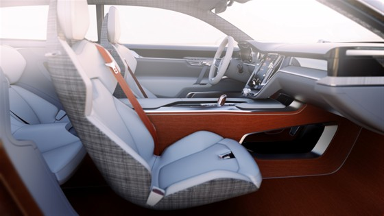 Volvo Concept Estate interiors