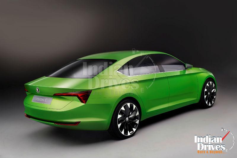 Skoda VisionC Coupe Concept