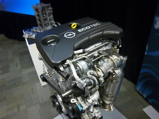2014 Chevrolet Engine