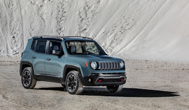 2014 Jeep baby SUV Renegade