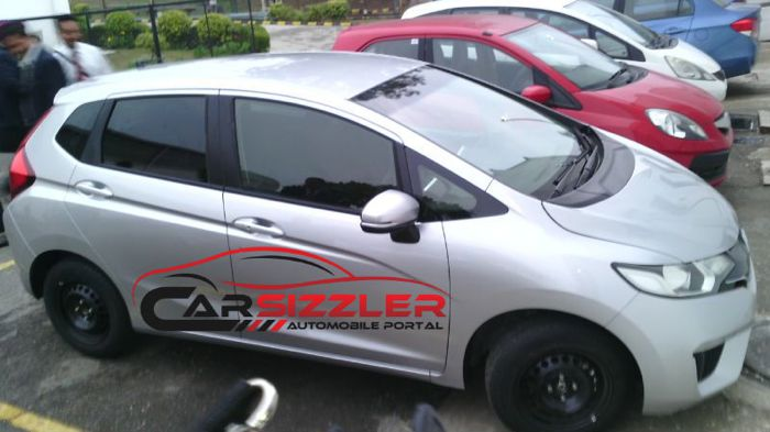 2014 New Honda Jazz Spied in India
