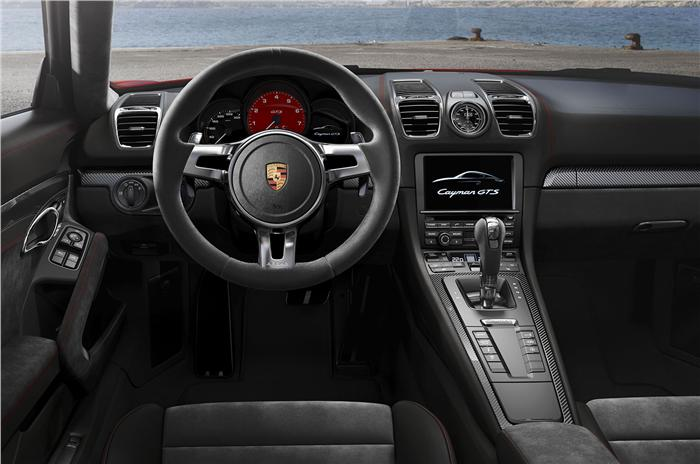 2014 Porsche Boxster GTS and Cayman GTS Interiors