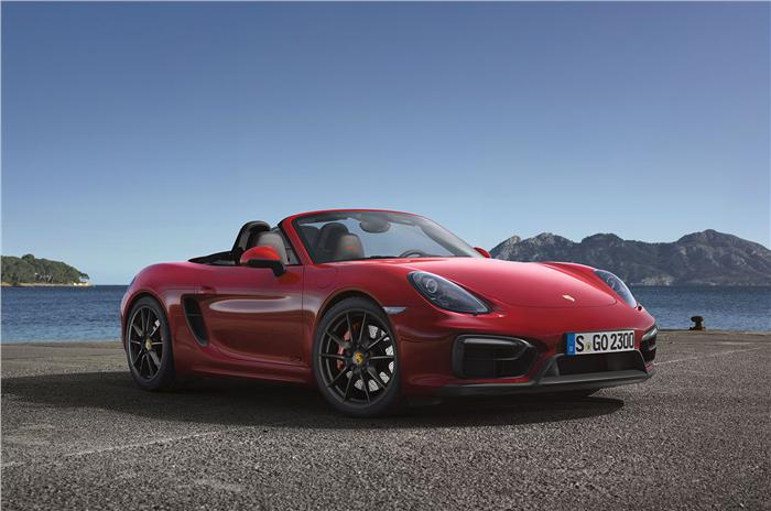 2014 Porsche Boxster GTS and Cayman GTS