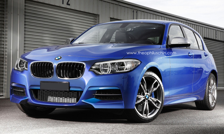 2015 BMW 1 Series Facelift