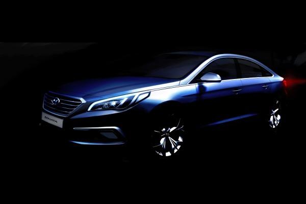 2015 Hyundai Sonata Teased