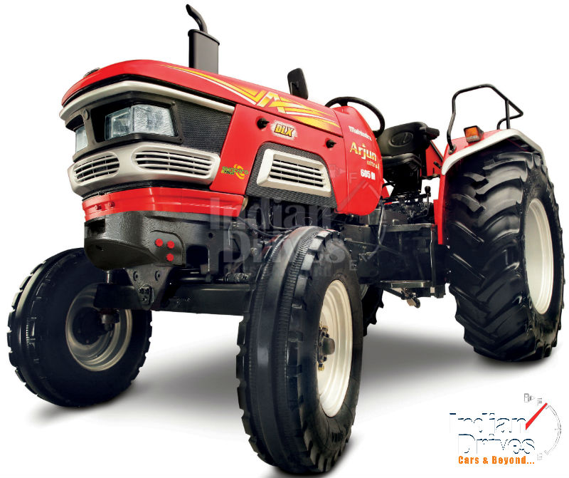 Mahindra Tractors launches India's first CRDe Tractor
