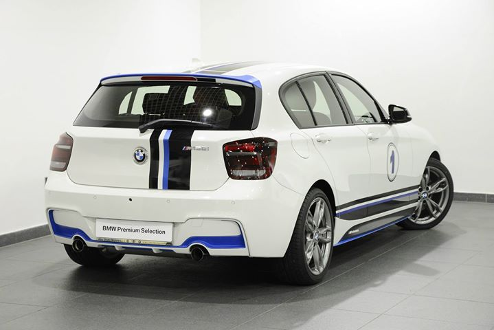 BMW 1 Series with BMW M Performance Back View