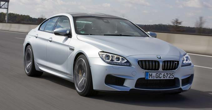BMW M6 Gran Coupe To Be Launched On 3rd April