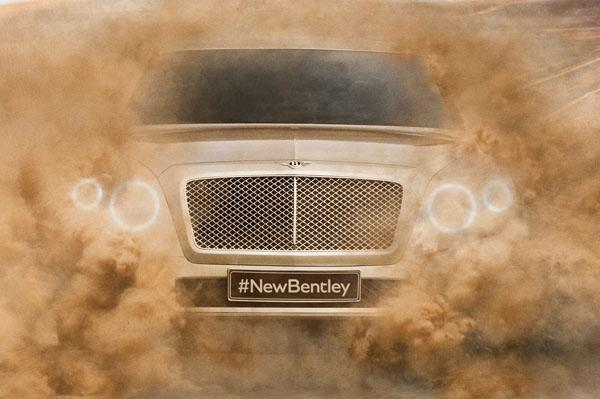 Bentley SUV Teased for First Time