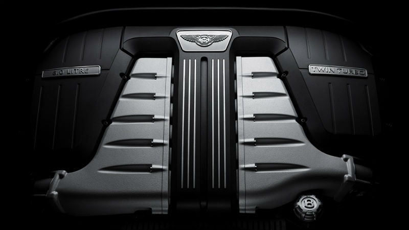 Bentley W12 Engine