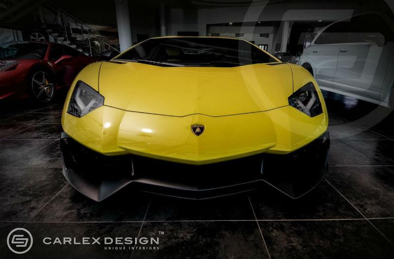Carlex Design Lamborghini Aventador Anniversario Edition