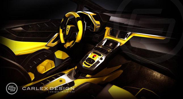 Carlex Design Lamborghini Aventador Interiors