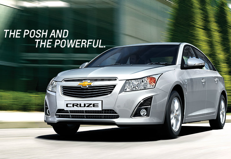 Chevrolet Cruze Launched in India