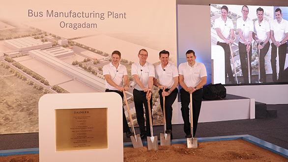 Daimler bus plant