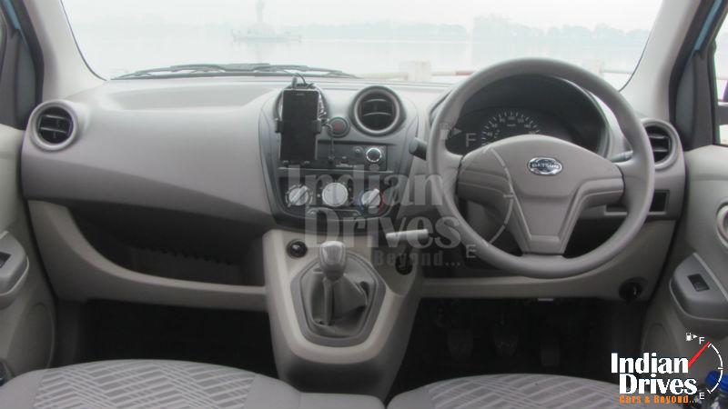 Datsun GO Interiors