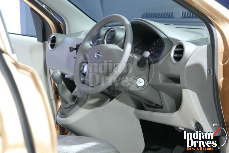 Datsun GO Plus MPV Interiors