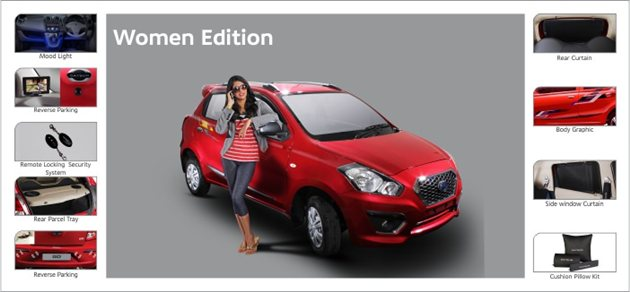 Datsun GO Women Edition Launched