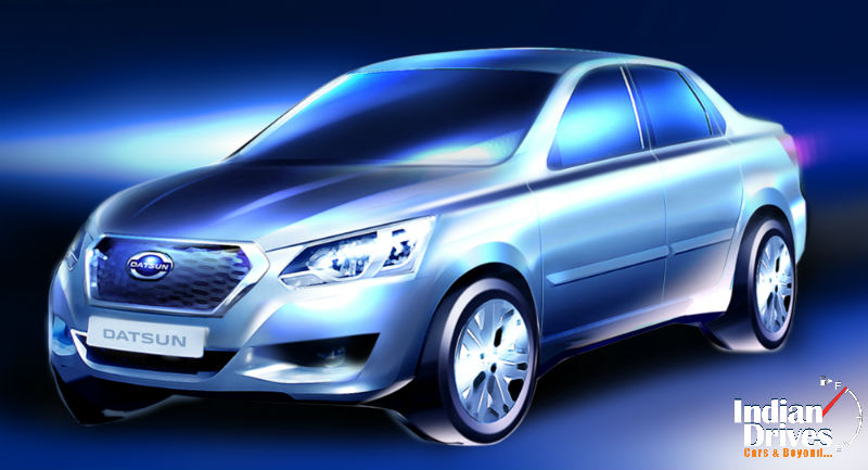 First Datsun Production Model for Russia to be unveiled on April 4th