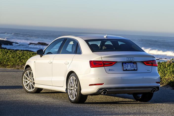 2015 Audi A3 Back View