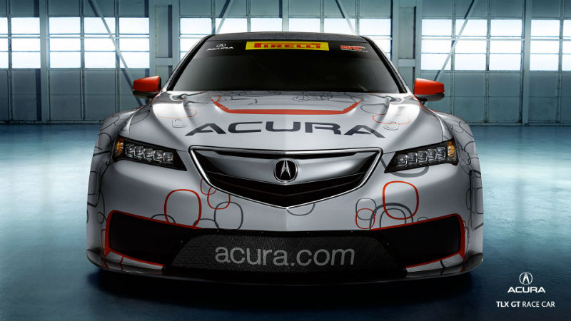 Acura TLX GT Race Car To Debut At Detroit Grand Prix