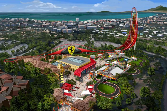 Ferrari Land To Be Developed In Spain, Due In 2016