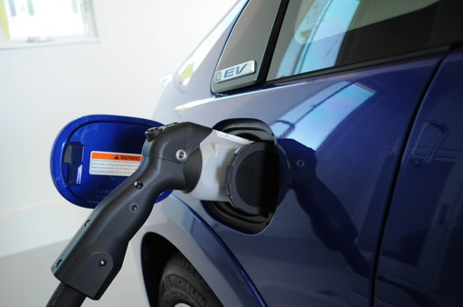 Fit EV Direct Solar Charging Close-up