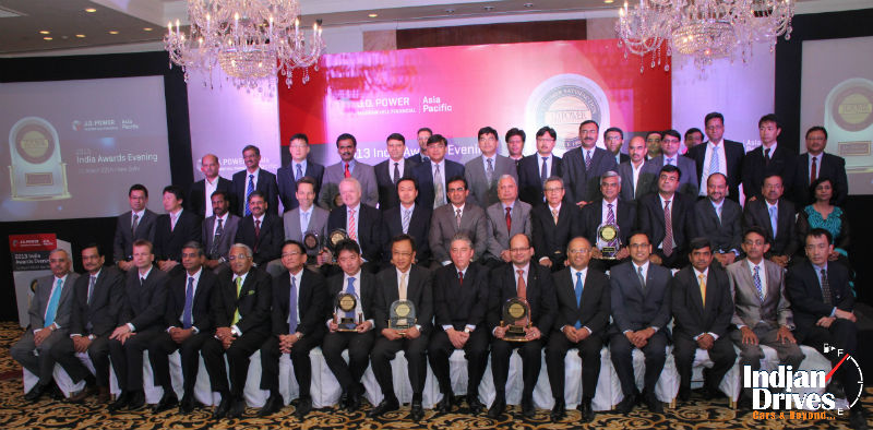 JD Power Asia Pacific 2013 Awards Concluded