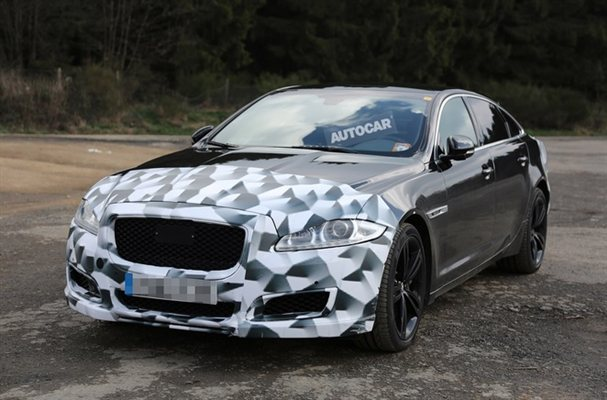 Jaguar XJR Spied For the First Time