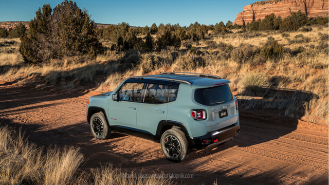 Jeep baby SUV Renegade