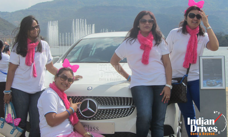Lavasa Women's Drive 2014 sets a Guinness World Record