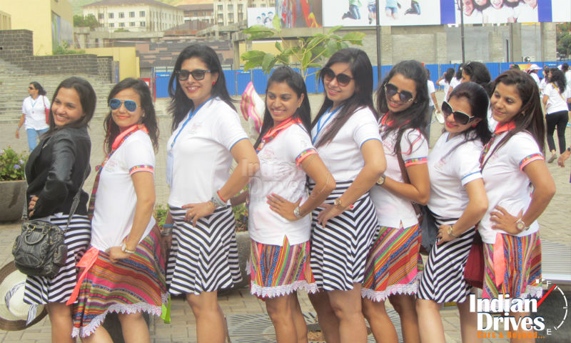 Lavasa Women's Drive sets a new Guinness World Record