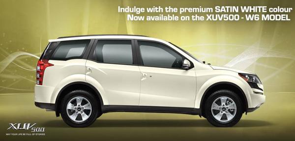 Mahindra XUV500 Gets New Colours