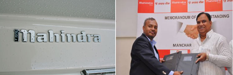 Mahindra enters into preferred financier agreement with Sharad Shakari Bank Manchar for Car Loans an