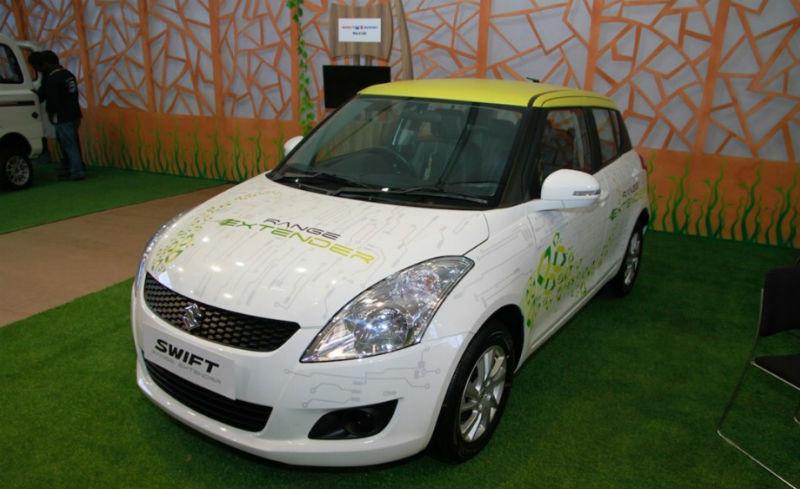Maruti Suzuki Swift Hybrid Range Extender