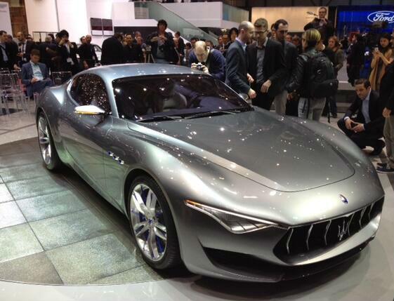 Maserati Alfieri Concept Unveiled