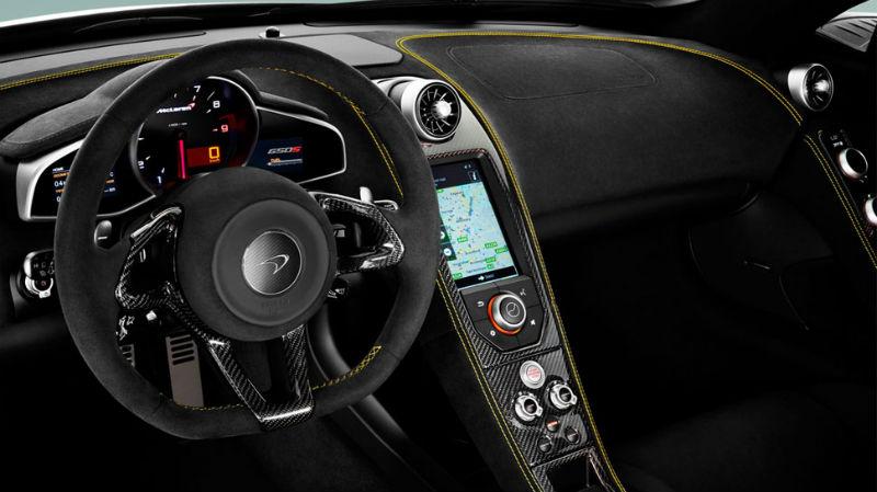 McLaren 650S Interiors