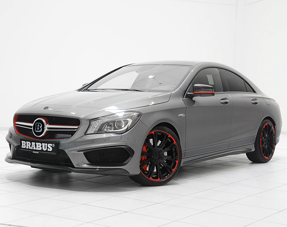 Mercedes Benz CLA 45 AMG Tuned By Brabus