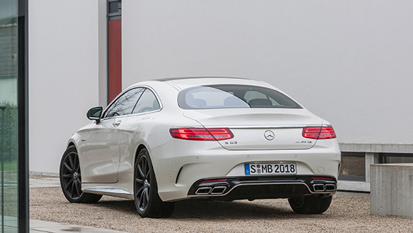 Mercedes-Benz S63 AMG Back View