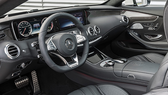 Mercedes-Benz S63 AMG Coupe Interiors