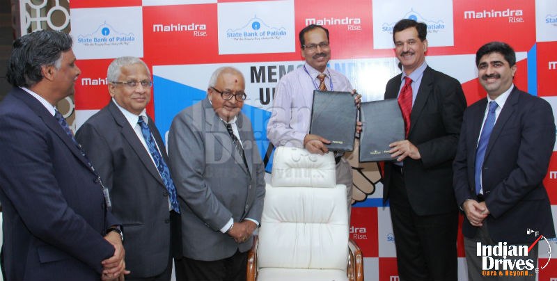 Mahindra enters into preferred financier tie-up with State Bank of Patiala for Vehicle Finance