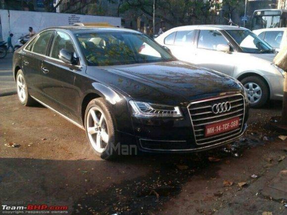 New 2014 Audi A8L