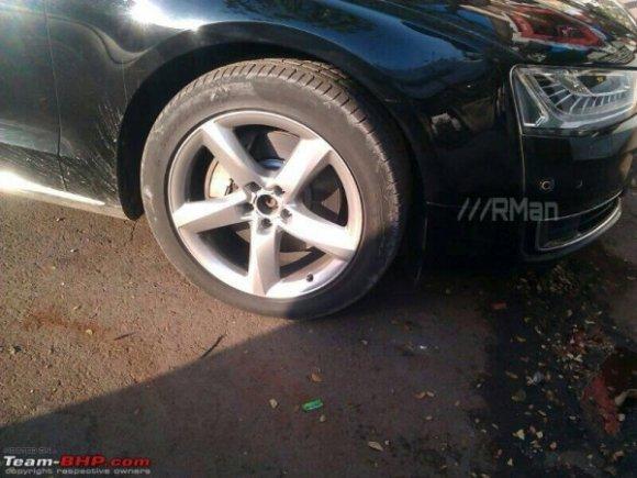 New Audi A8L