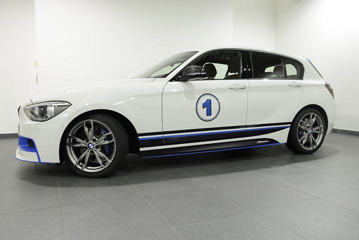 New BMW 1 Series with BMW M Performance