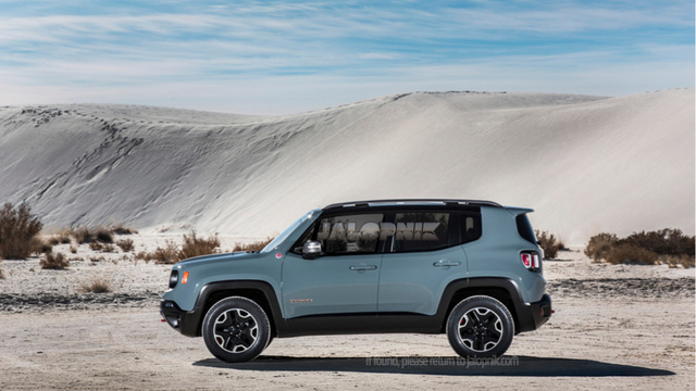 New Jeep baby SUV Renegade
